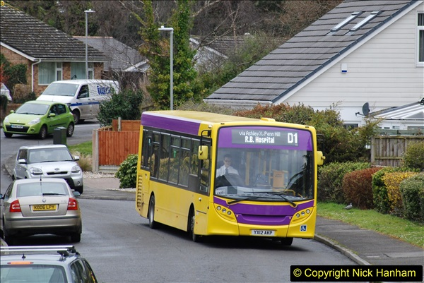 2018-03-31 Last days of service for the D1 as  a Yellow Bus route.  (7)178