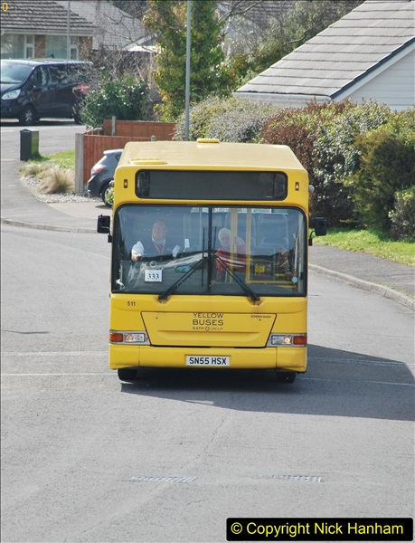 2018-04-06 Penultimate day of Yellow Buses operation on the D1. (8)195