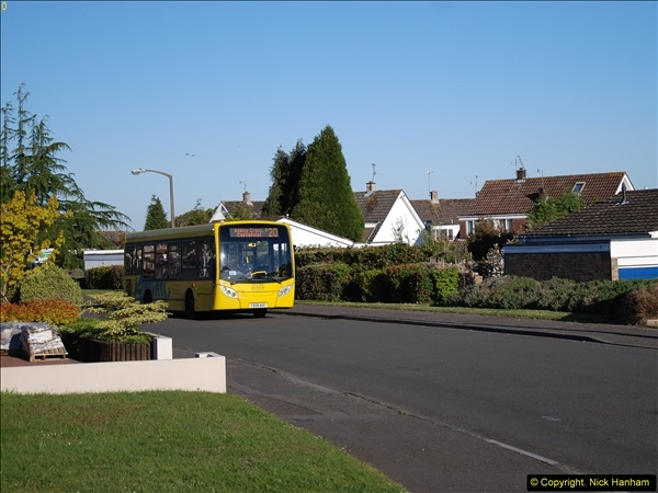 2015-04-27 First Bus route on your Host's Road.  (10)010