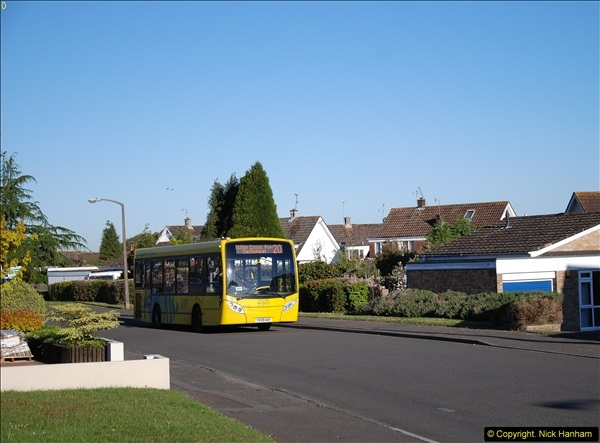 2015-04-27 First Bus route on your Host's Road.  (11)011