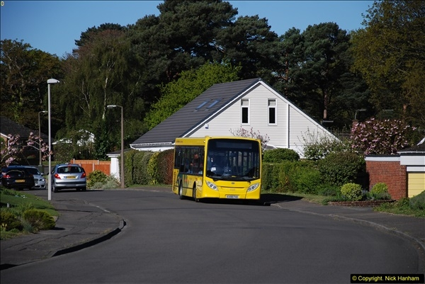 2015-04-27 First Bus route on your Host's Road.  (21)021
