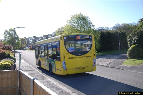 2015-04-27 First Bus route on your Host's Road.  (25)025