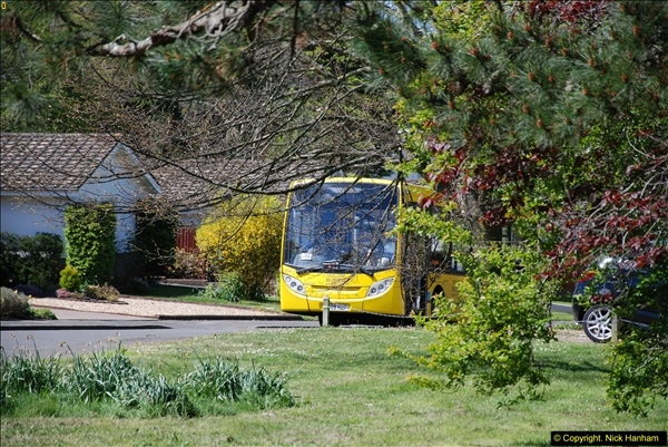 2015-04-27 First Bus route on your Host's Road.  (37)037