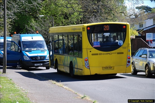 2015-04-27 First Bus route on your Host's Road.  (40)040