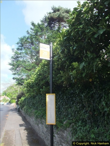 2015-05-15 New bus stops on the Route 20 near your Host's home.  (2)088