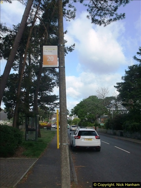 2015-05-15 New bus stops on the Route 20 near your Host's home.  (5)091