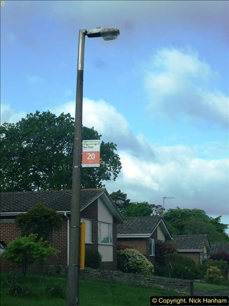 2015-05-15 New bus stops on the Route 20 near your Host's home.  (6)092