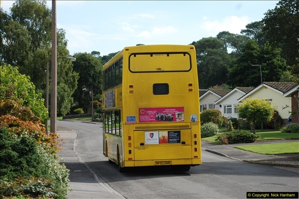 2015-09-17 The first time we have a double decker on the 20 route.  (4)098