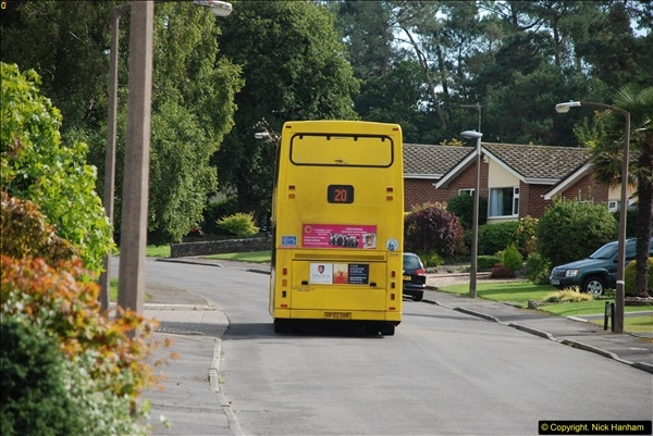 2015-09-17 The first time we have a double decker on the 20 route.  (6)100