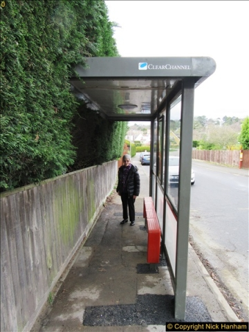 2017-03-17 We get a new bus shelter for the Yellow Buses Route 20 and W&D Route 60.  (7)114