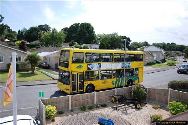 2017-06-03 A rare double decker on our now D1 service.   (10)139