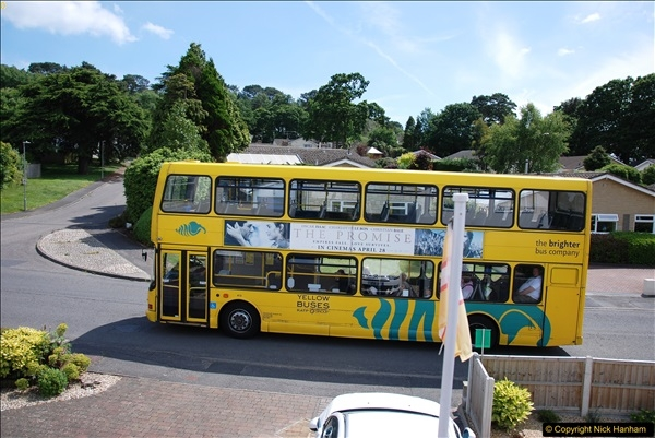 2017-06-03 A rare double decker on our now D1 service.   (12)141