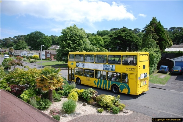 2017-06-03 A rare double decker on our now D1 service.   (14)143