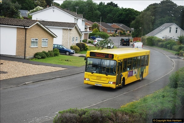 2017-06-05 D1 service back to single decker. Some bluring on pictures due to being taken through glass. (2)155