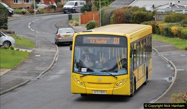 2018-03-31 Last days of service for the D1 as  a Yellow Bus route.  (8)179