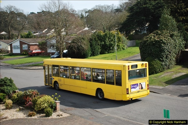 2018-04-06 Penultimate day of Yellow Buses operation on the D1. (10)197
