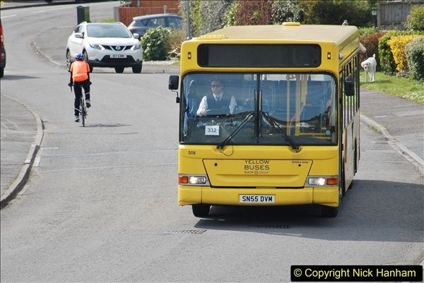 2018-04-06 Penultimate day of Yellow Buses operation on the D1. (1)188