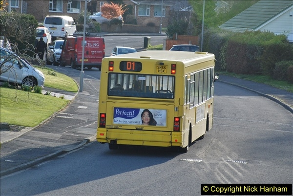 2018-04-06 Penultimate day of Yellow Buses operation on the D1. (15)202