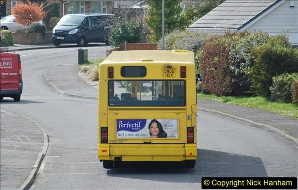 2018-04-06 Penultimate day of Yellow Buses operation on the D1. (7)194