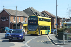 2015-04-07 New 15 plate Yellow Bus @ The Sea View, Parkstone, Poole, Dorset.  (1)29
