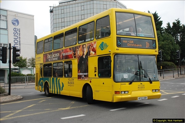 2013-08-07 Poole Bus Station, Dorset.  (2)069