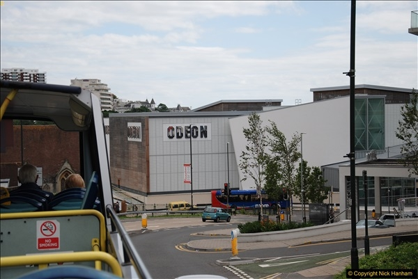 2017-08-12 Yellow Buses Open Top Bus Ride - Poole Quay - Bournemouth - Poole Quay.  (104)104