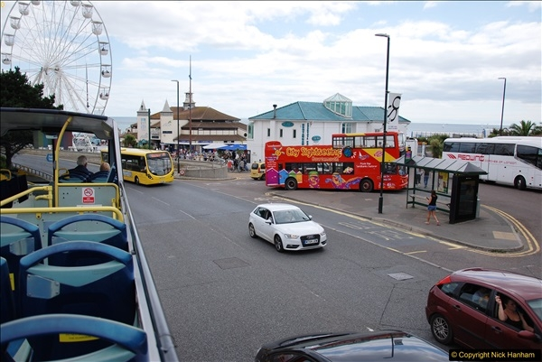 2017-08-12 Yellow Buses Open Top Bus Ride - Poole Quay - Bournemouth - Poole Quay.  (117)117