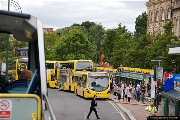 2017-08-12 Yellow Buses Open Top Bus Ride - Poole Quay - Bournemouth - Poole Quay.  (142)142