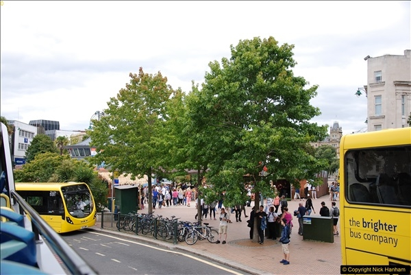 2017-08-12 Yellow Buses Open Top Bus Ride - Poole Quay - Bournemouth - Poole Quay.  (145)145