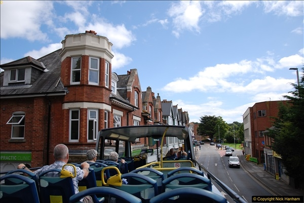 2017-08-12 Yellow Buses Open Top Bus Ride - Poole Quay - Bournemouth - Poole Quay.  (20)020