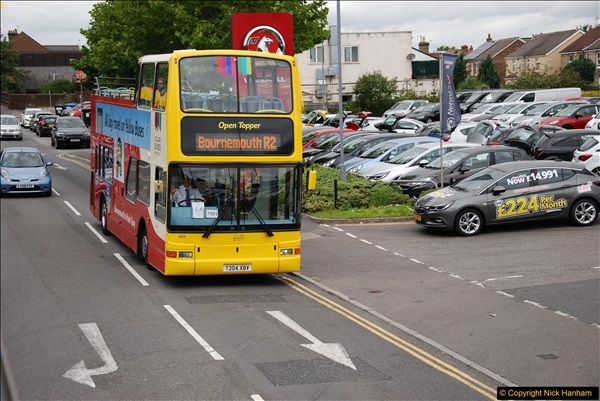 2017-08-12 Yellow Buses Open Top Bus Ride - Poole Quay - Bournemouth - Poole Quay.  (209)209