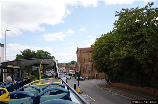 2017-08-12 Yellow Buses Open Top Bus Ride - Poole Quay - Bournemouth - Poole Quay.  (33)033