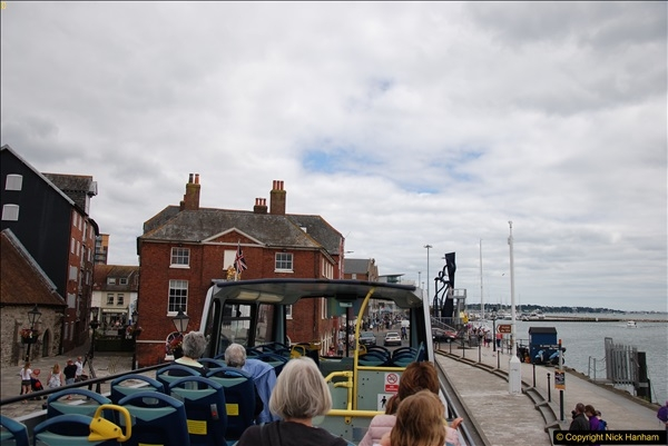 2017-08-12 Yellow Buses Open Top Bus Ride - Poole Quay - Bournemouth - Poole Quay.  (359)359