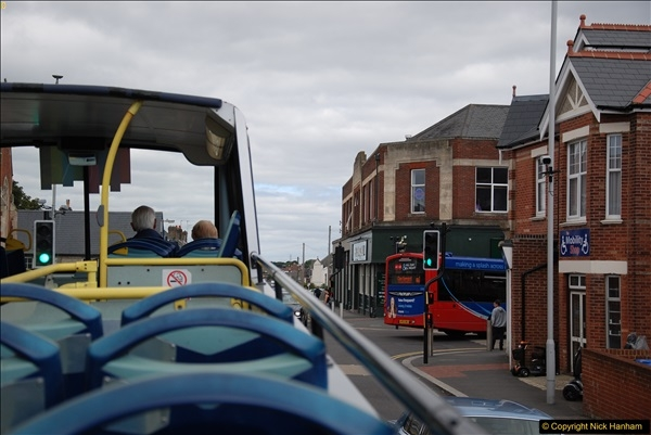 2017-08-12 Yellow Buses Open Top Bus Ride - Poole Quay - Bournemouth - Poole Quay.  (36)036
