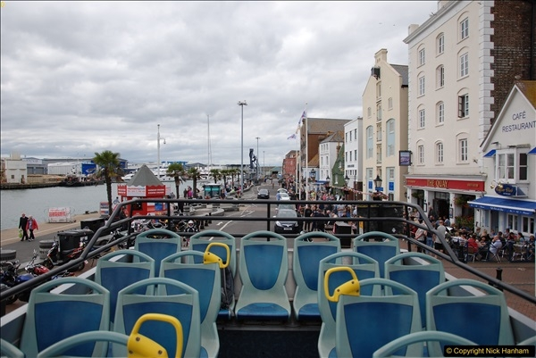 2017-08-12 Yellow Buses Open Top Bus Ride - Poole Quay - Bournemouth - Poole Quay.  (372)372