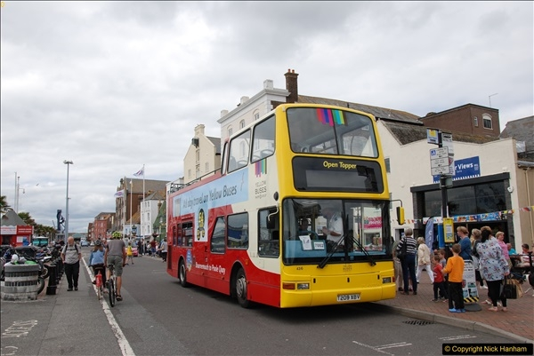 2017-08-12 Yellow Buses Open Top Bus Ride - Poole Quay - Bournemouth - Poole Quay.  (383)383