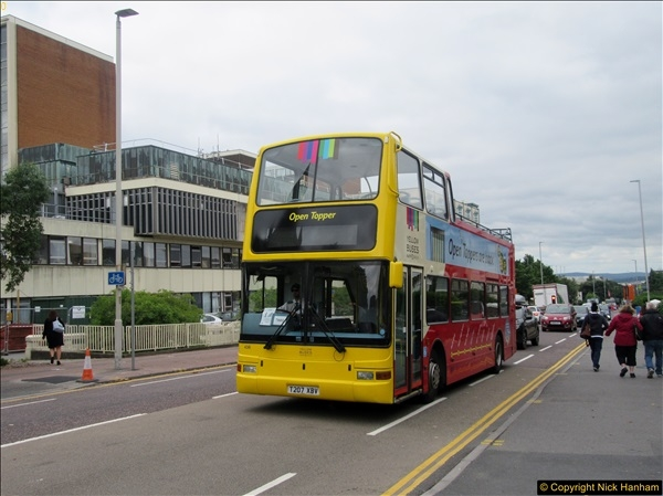 2017-08-12 Yellow Buses Open Top Bus Ride - Poole Quay - Bournemouth - Poole Quay.  (4)004