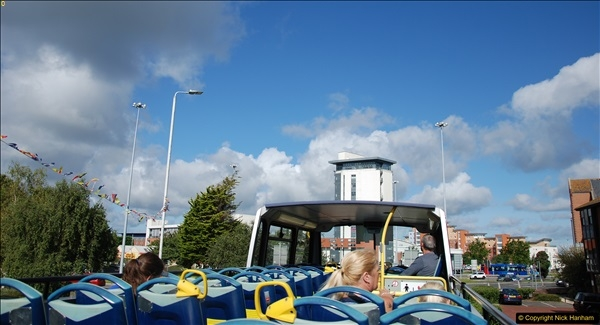 2017-08-12 Yellow Buses Open Top Bus Ride - Poole Quay - Bournemouth - Poole Quay.  (405)405