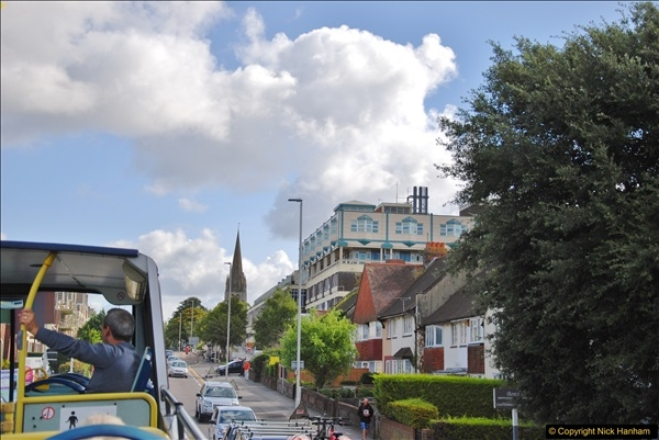 2017-08-12 Yellow Buses Open Top Bus Ride - Poole Quay - Bournemouth - Poole Quay.  (430)430