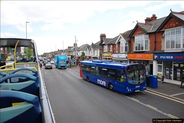 2017-08-12 Yellow Buses Open Top Bus Ride - Poole Quay - Bournemouth - Poole Quay.  (44)044