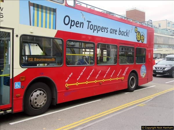 2017-08-12 Yellow Buses Open Top Bus Ride - Poole Quay - Bournemouth - Poole Quay.  (5)005