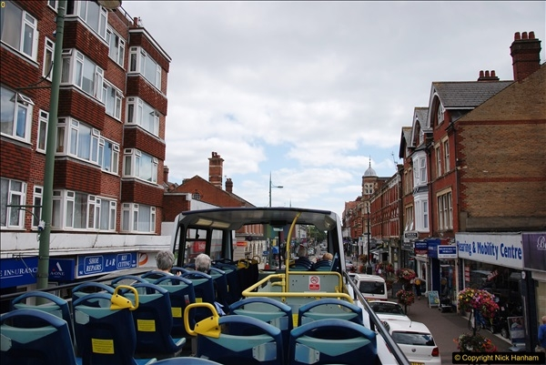 2017-08-12 Yellow Buses Open Top Bus Ride - Poole Quay - Bournemouth - Poole Quay.  (79)079