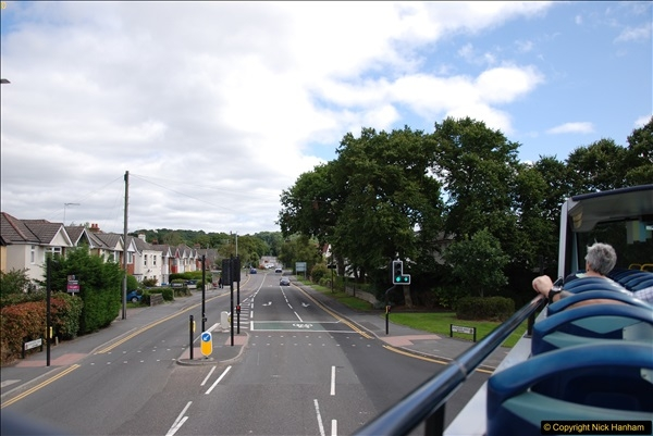 2017-08-12 Yellow Buses Open Top Bus Ride - Poole Quay - Bournemouth - Poole Quay.  (9)009