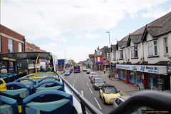 2017-08-12 Yellow Buses Open Top Bus Ride - Poole Quay - Bournemouth - Poole Quay.  (38)038