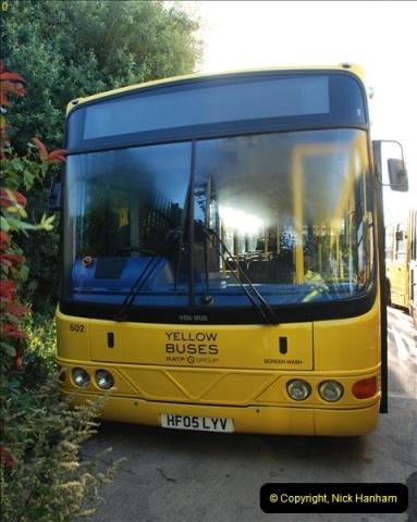 2012-08-26 Yellow Buses Yard Visit.  (106)106
