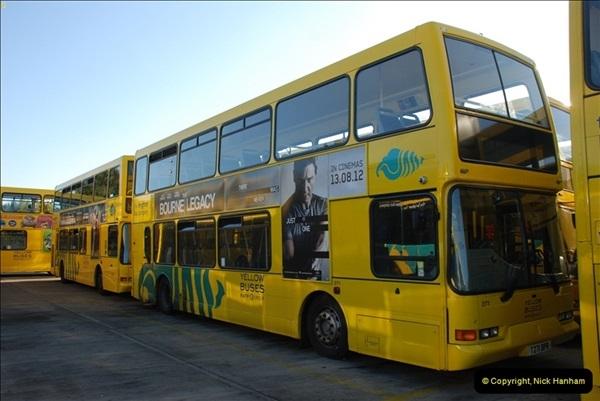 2012-08-26 Yellow Buses Yard Visit.  (180)180