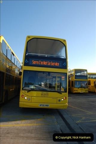 2012-08-26 Yellow Buses Yard Visit.  (20)020