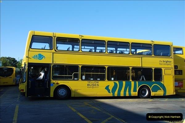 2012-08-26 Yellow Buses Yard Visit.  (200)200