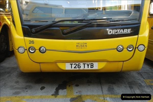 2012-08-26 Yellow Buses Yard Visit.  (203)203