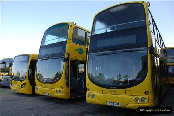 2012-08-26 Yellow Buses Yard Visit.  (205)205
